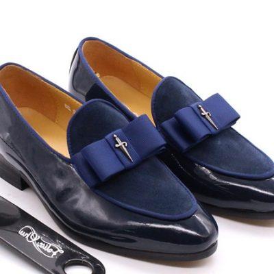 Children Dress-Up Shoes Patent Suede