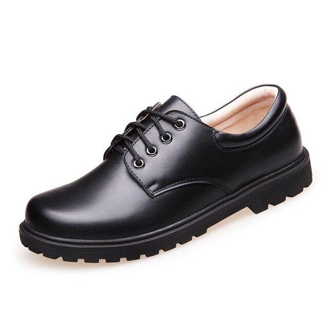 Boys Wedding School Leather Shoes